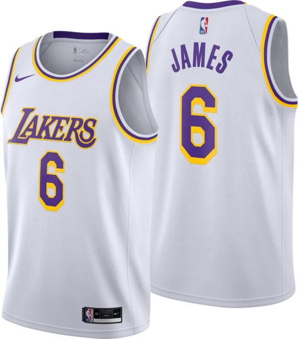 Nike Youth Los Angeles Lakers LeBron James #6 Dri-FIT Swingman Jersey product image