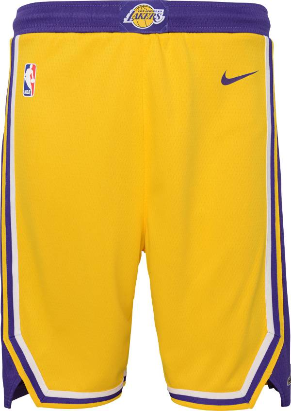 Nike Youth Los Angeles Lakers Dri-FIT Icon Swingman Shorts product image