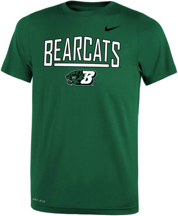 Nike Youth Binghamton Bearcats Dark Green Dri-FIT Legend T-Shirt product image