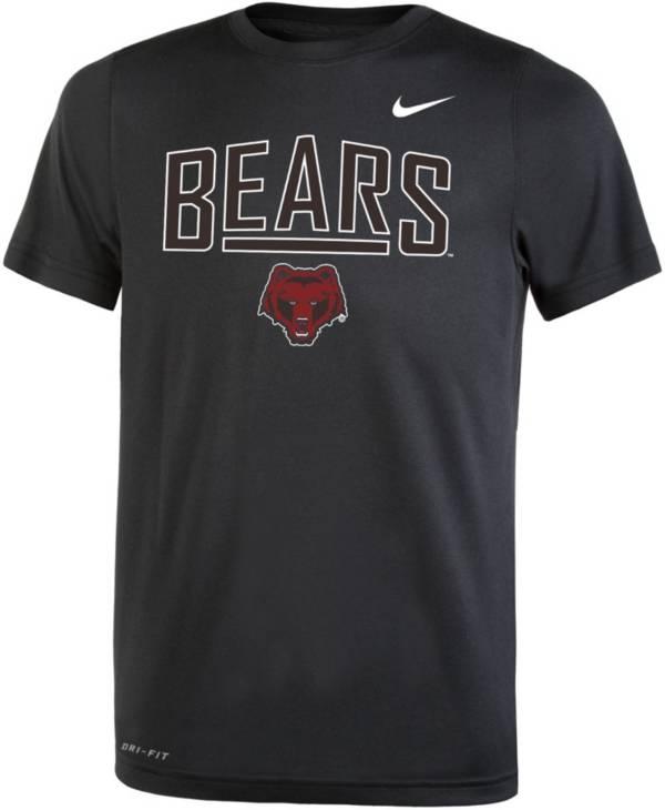 Nike Youth Brown University Bears Dri-FIT Legend Black T-Shirt product image
