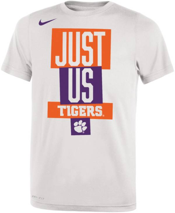Nike Youth Clemson Tigers 'Just Us' Bench T-Shirt product image