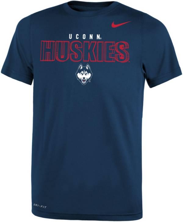 Nike Youth UConn Huskies Blue Dri-FIT Legend T-Shirt product image
