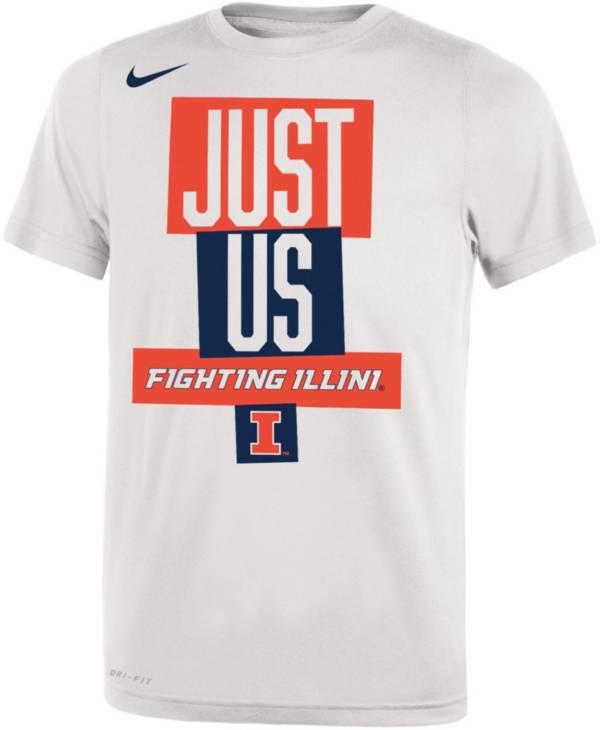Nike Youth Illinois Fighting Illini 'Just Us' Bench T-Shirt product image