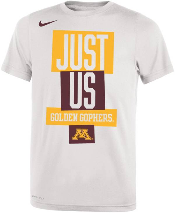 Nike Youth Minnesota Golden Gophers 'Just Us' Bench T-Shirt product image