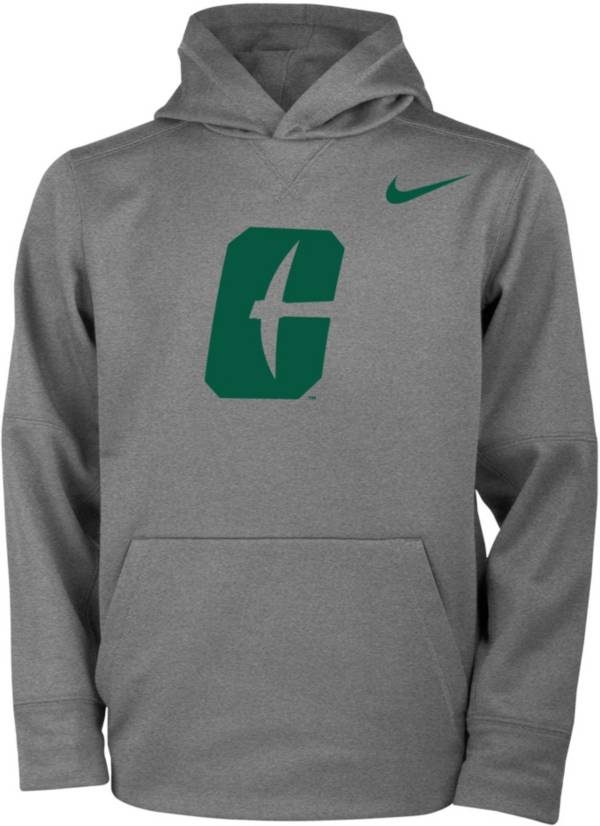 Nike Youth Charlotte 49ers Grey Therma Pullover Hoodie product image