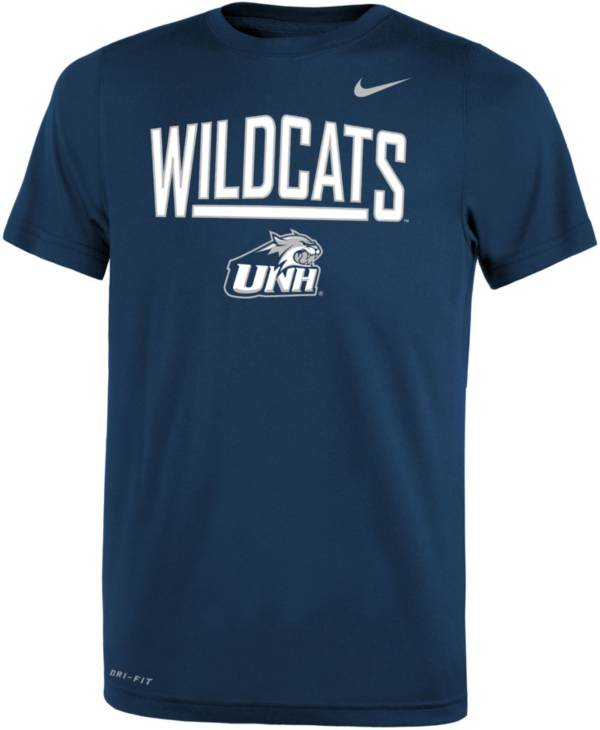 Nike Youth New Hampshire Wildcats Blue Dri-FIT Legend T-Shirt product image