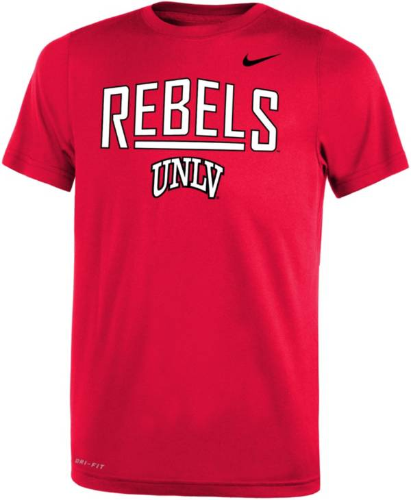 Nike Youth UNLV Rebels Scarlet Dri-FIT Legend T-Shirt product image