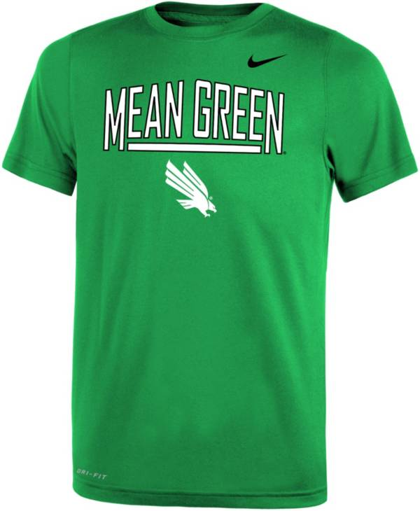 Nike Youth North Texas Mean Green Green Dri-FIT Legend T-Shirt product image