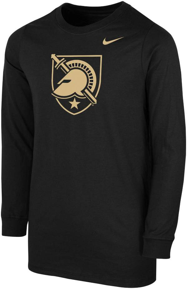 Nike Youth Army West Point Black Knights Core Cotton Long Sleeve Black T-Shirt product image