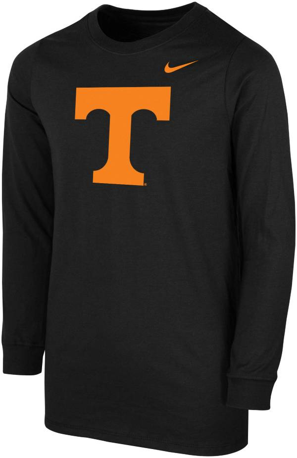 Nike Youth Tennessee Volunteers Core Cotton Long Sleeve Black T-Shirt product image