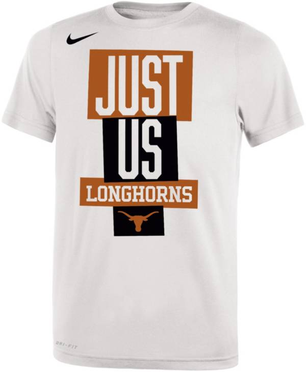 Nike Youth Texas Longhorns 'Just Us' Bench T-Shirt product image