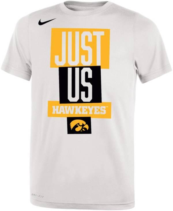 Nike Youth Iowa Hawkeyes 'Just Us' Bench T-Shirt product image