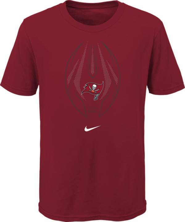 Nike Youth Tampa Bay Buccaneers Icon Red T-Shirt product image