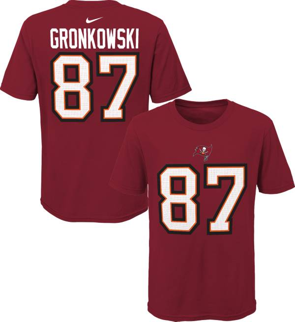 Nike Youth Tampa Bay Buccaneers Rob Gronkowski #87 Red T-Shirt product image