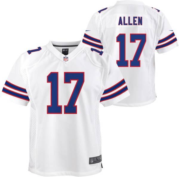 Nike Youth Buffalo Bills Josh Allen #17 White Alternate Game Jersey product image