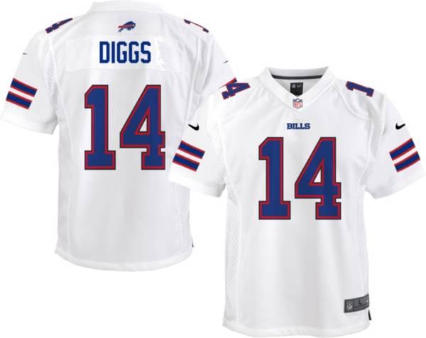 Nike Youth Buffalo Bills Stefon Diggs #14 White Game Jersey