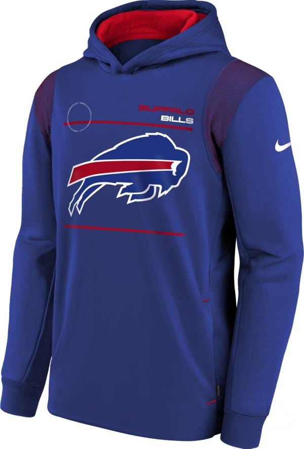 Nike Youth Buffalo Bills Old Royal Therma Pullover Hoodie product image
