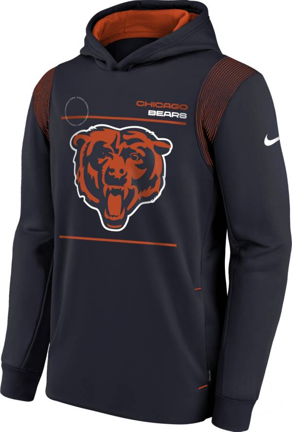 Nike Youth Chicago Bears Marine Therma Pullover Hoodie product image