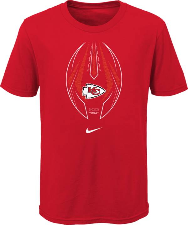 Nike Youth Kansas City Chiefs Icon Red T-Shirt product image