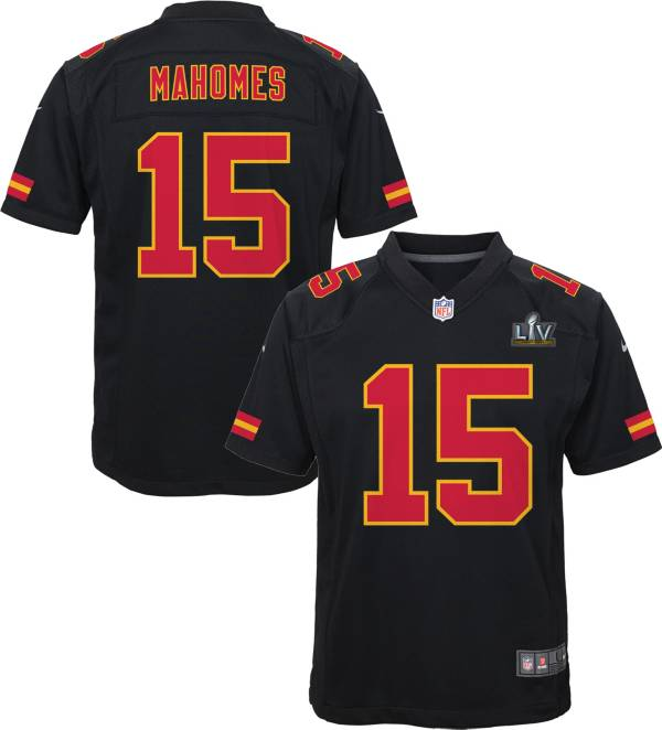 Nike Youth Kansas City Chiefs Patrick Mahomes #15 Super Bowl LV Bound Game Jersey product image