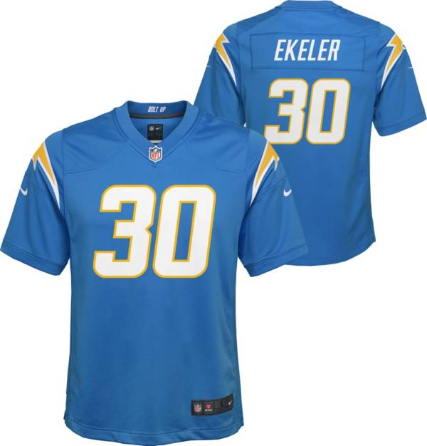 Nike Youth Los Angeles Chargers Austin Ekeler #30 Blue Game Jersey product image