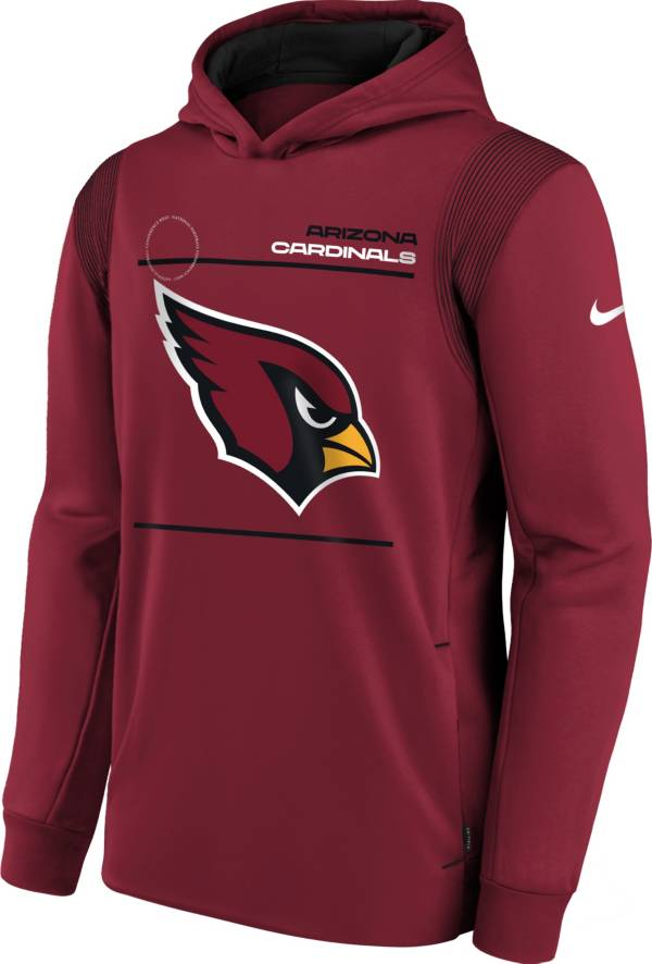 Nike Youth Arizona Cardinals Tough Red Therma Pullover Hoodie product image