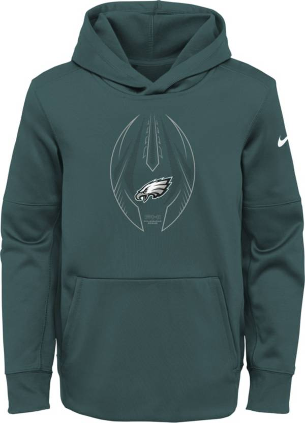 Nike Youth Philadelphia Eagles Sport Teal Icon Therma Pullover Hoodie product image