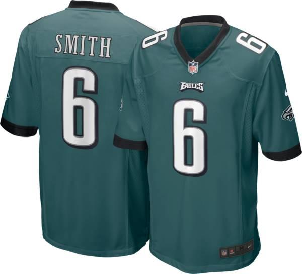 Nike Youth Philadelphia Eagles DeVonta Smith #6 Green Game Jersey product image