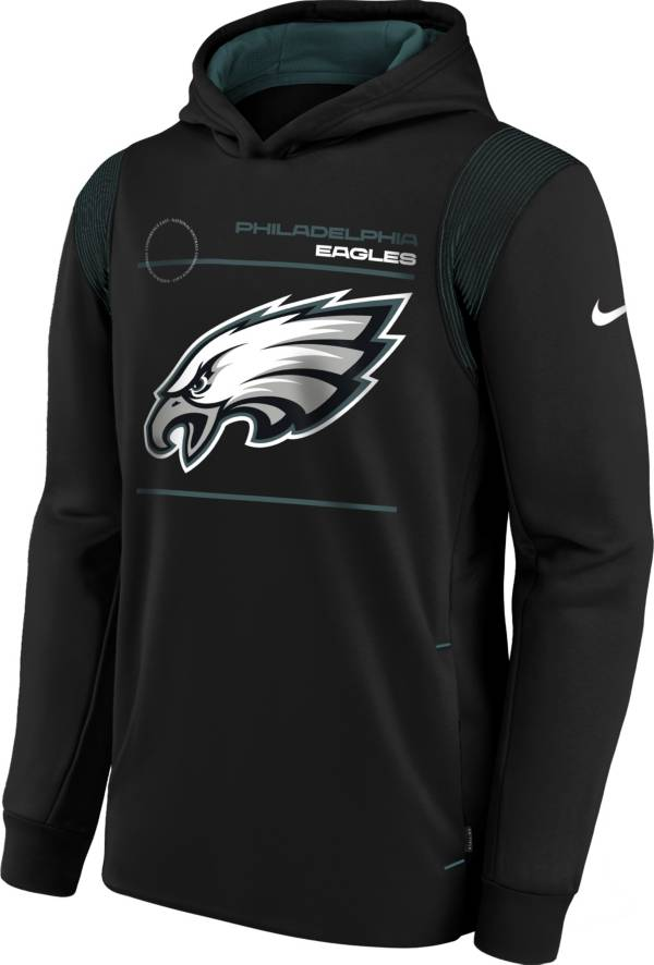 Nike Youth Philadelphia Eagles Black Therma Pullover Hoodie product image