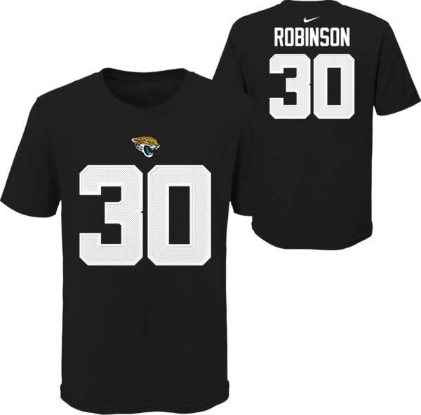 Nike Youth Jacksonville Jaguars Jerome Robinson #30 Black T-Shirt product image