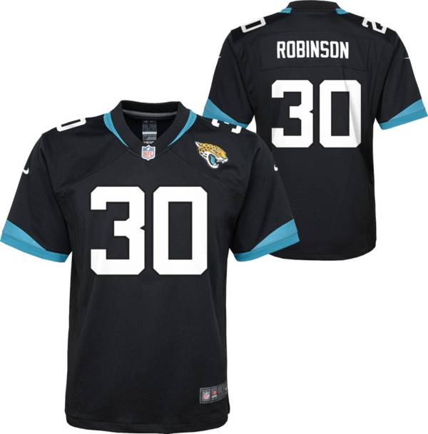 Nike Youth Jacksonville Jaguars Jerome Robinson #30 Black Game Jersey product image
