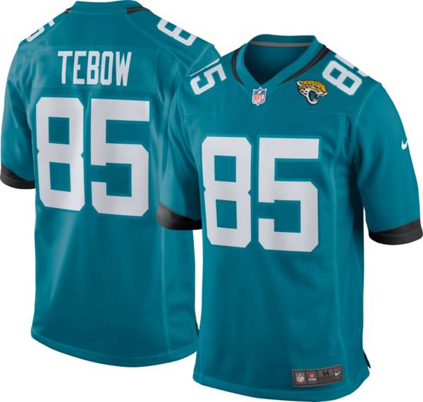 Nike Youth Jacksonville Jaguars Tim Tebow #85 Teal Game Jersey product image