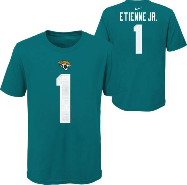 Nike Youth Jacksonville Jaguars Travis Etienne #1 Teal T-Shirt product image