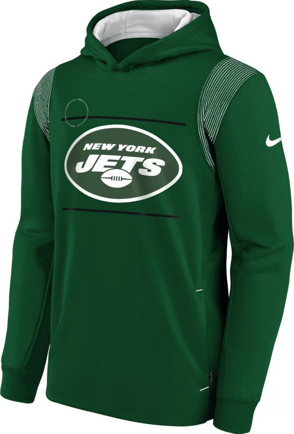 Nike Youth New York Jets Sport Green Therma Pullover Hoodie product image