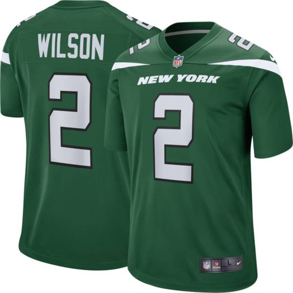Nike Youth New York Jets Zach Wilson #2 Green Game Jersey product image