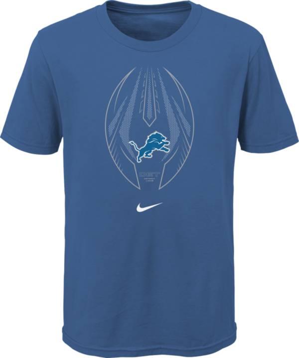 Nike Youth Detroit Lions Icon Blue T-Shirt product image