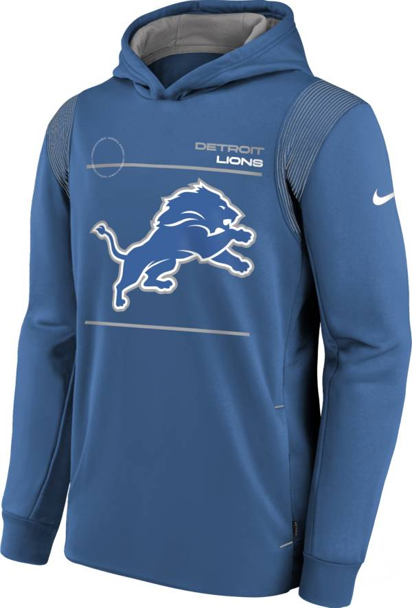 Nike Youth Detroit Lions Battle Blue Therma Pullover Hoodie product image