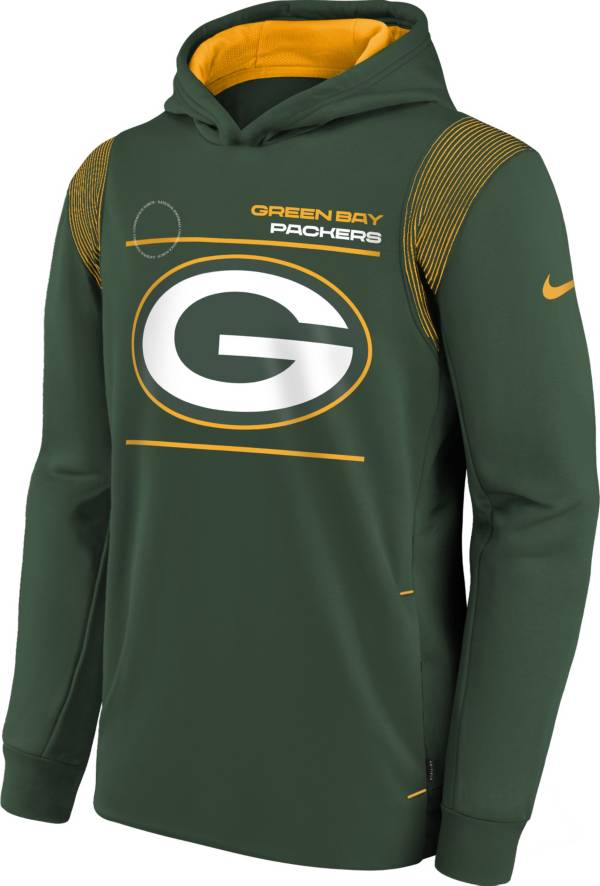 Nike Youth Green Bay Packers Fir Therma Pullover Hoodie product image