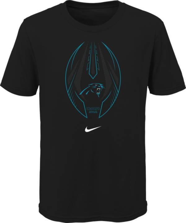 Nike Youth Carolina Panthers Icon Black T-Shirt product image