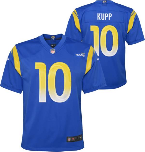 Nike Youth Los Angeles Rams Cooper Kupp #10 Royal Game Jersey product image