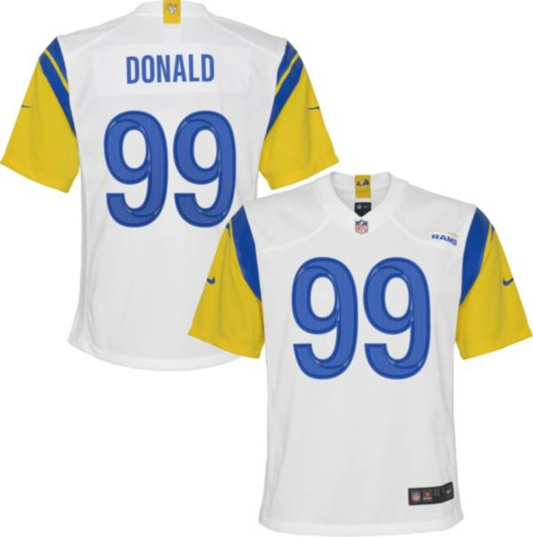 Nike Youth Los Angeles Rams Aaron Donald #99 Alternate White Game Jersey product image