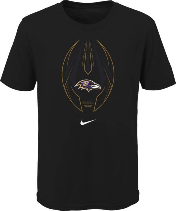 Nike Youth Baltimore Ravens Icon Black T-Shirt product image