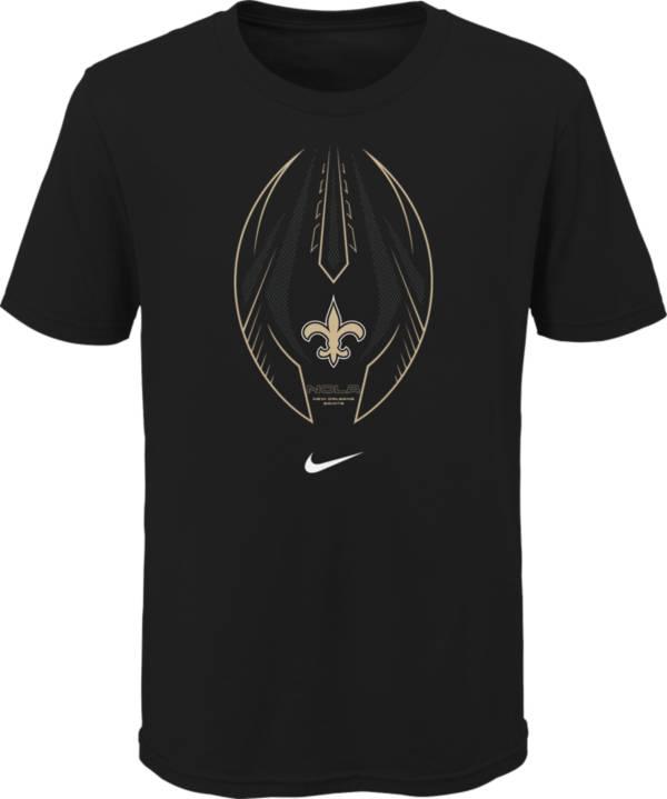 Nike Youth New Orleans Saints Icon Black T-Shirt product image