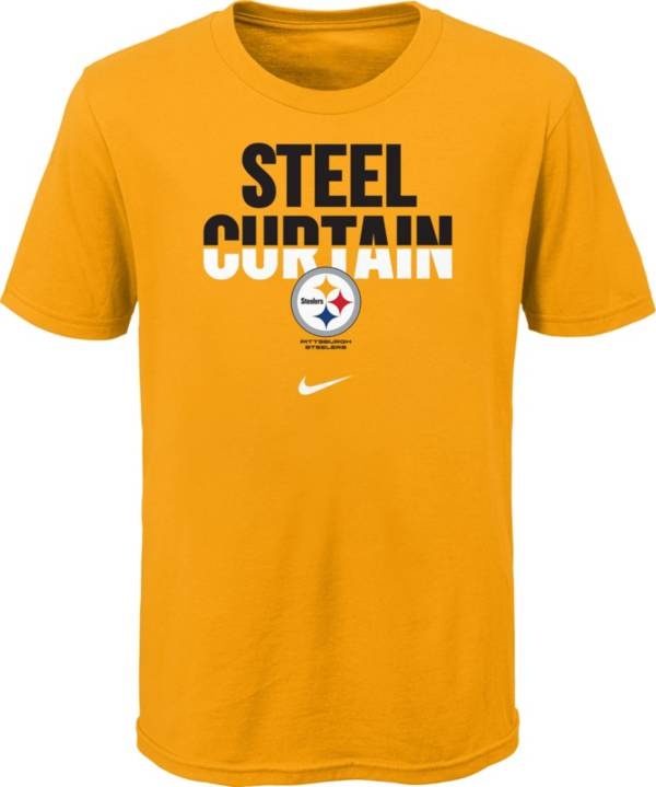 Nike Youth Pittsburgh Steelers Local Split Gold T-Shirt product image