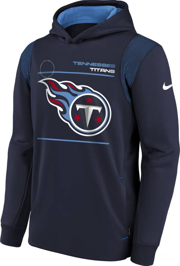 Nike Youth Tennessee Titans College Navy Therma Pullover Hoodie product image