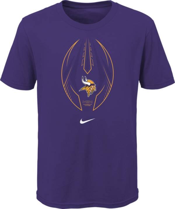 Nike Youth Minnesota Vikings Icon Purple T-Shirt product image