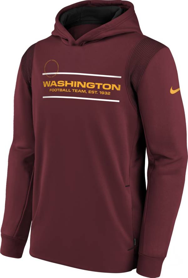 Nike Youth Washington Football Team Team Red Therma Pullover Hoodie product image