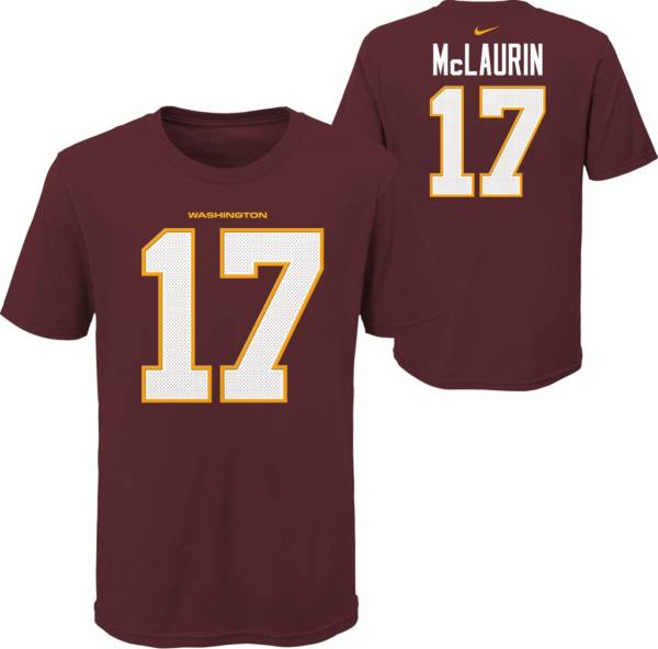 Nike Youth Washington Football Team Terry McLaurin #17 Red T-Shirt product image