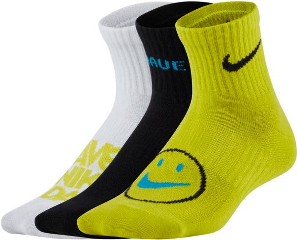 Nike Kids' Everyday Lightweight Ankle Socks - 3 Pack product image