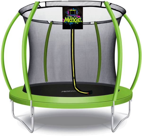 Upper Bounce 8' Pumpkin-Shaped Trampoline Set with Enclosure product image